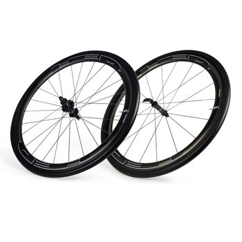 HED Jet 4,6 Black Clincher Wheelset