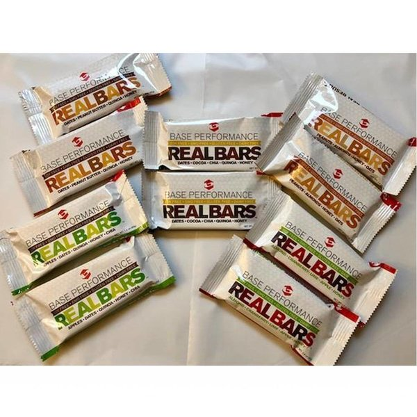 BASE Performance Real Bar Variety Pack - 10 Bars