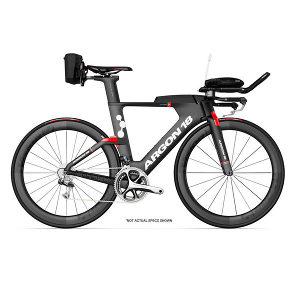 Argon 18 E-119 Tri + Etap Triathlon Bike