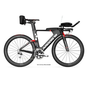 Argon 18 E-119 TRI+ Dura-Ace Di2 Triathlon Bike