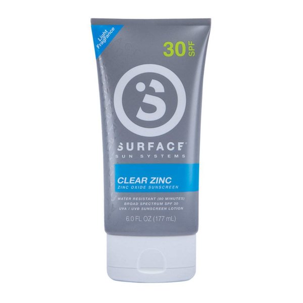 Surface Clear Zinc Sunscreen Lotion - SPF30