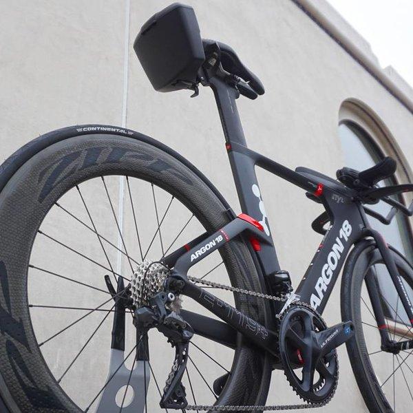 Argon 18 E-119 Tri+ Ultegra Di2 Tri Bike Custom Spec