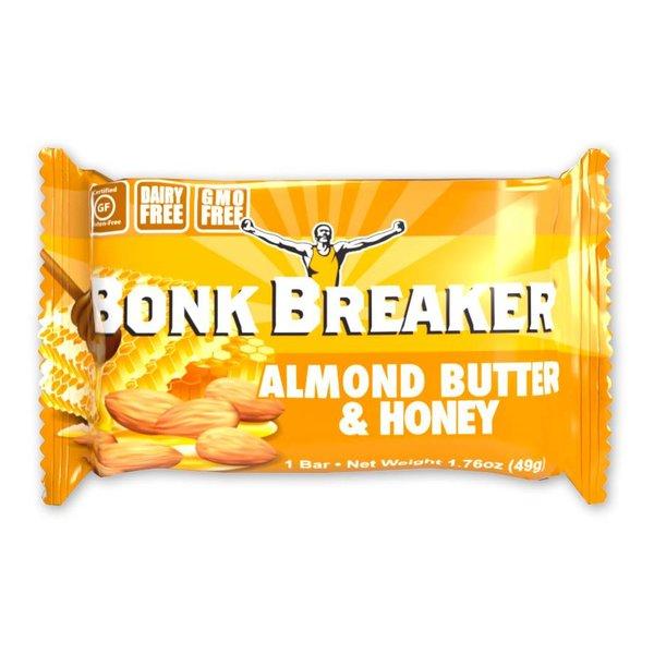 BONK BREAKER Almond Butter-Honey Box 12Ct