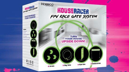 RIS Vusion Houseracer 125 FPV Race Quad RTF