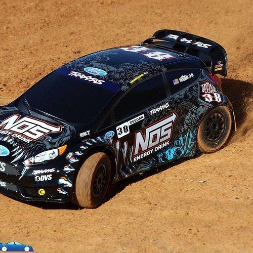 Traxxas TRA74054-6 1/10 NOS Deegan 38 Ford Fiesta ST Rally RTR