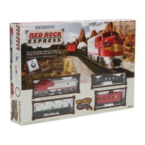 Bachman BAC00678 HO Red Rock Express Train Set, SF
