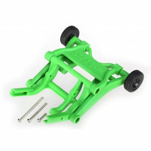 Traxxas TRA3678A Wheelie Bar, Assembled Green Monster Jam