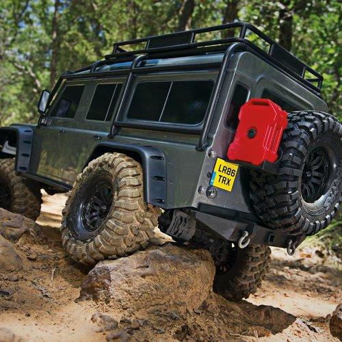 Traxxas TRA82056-4 TRX-4 Scale & Trail Crawler (Red)
