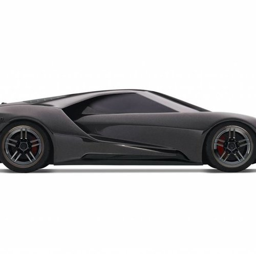 Traxxas 1/10 Scale Ford GT AWD Supercar RTR with XL-5 and TSM, Liquid Black (TRA830564T3)