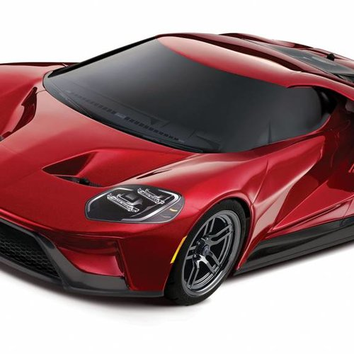 Traxxas Liquid Red Ford GT 1/10 Scale AWD Supercar RTR