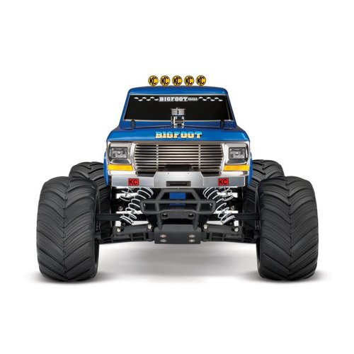 Traxxas BIGFOOT Classic 1/10 Scale RTR Monster Truck; Blue