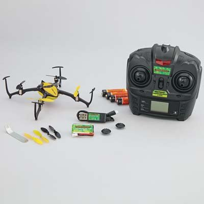 DROMIDA Verso Inversion QuadCopter UAV RTF Yellow DIDE10YY