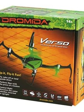 DROMIDA Verso Inversion QuadCopter UAV RTF Green