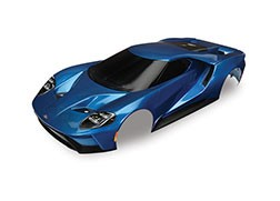 Traxxas TRA8311A  Body, Ford GT®, blue (painted, decals applied