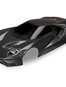 Traxxas Body, Ford GT®, black (painted, decals applied)