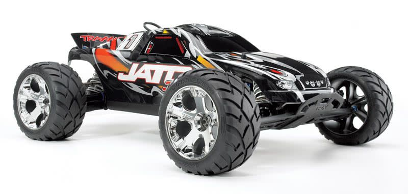 TRA 1/10 Jato 3.3 2WD Nitro Truck RTR with TSM, Red