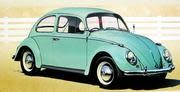 Hasegawa Type 1 (1966) Volkswagen Beetle 1/24 Historic Car series 4
