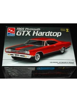 AMT 1/25 Model Kit 1969 Plymouth GTX Hardtop (#6111)