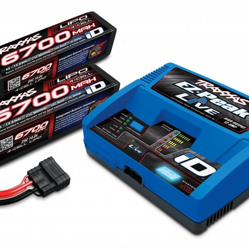 Traxxas TRA2993 4S Battery/Charger Completer Pack(2-2890X)(1-2971)