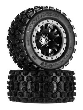 Proline PRO10131-00 Badlands MX43 Pro-Loc Tire(2):Pro-Loc X-MAXX Wheel