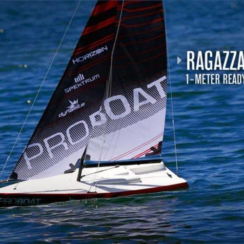 PRB Ragazza 1 Meter Sailboat V2: RTR