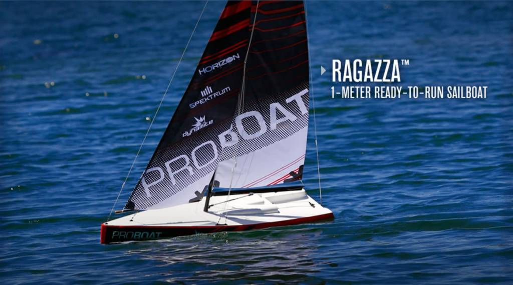 PRB Ragazza 1 Meter Sailboat V2: RTR