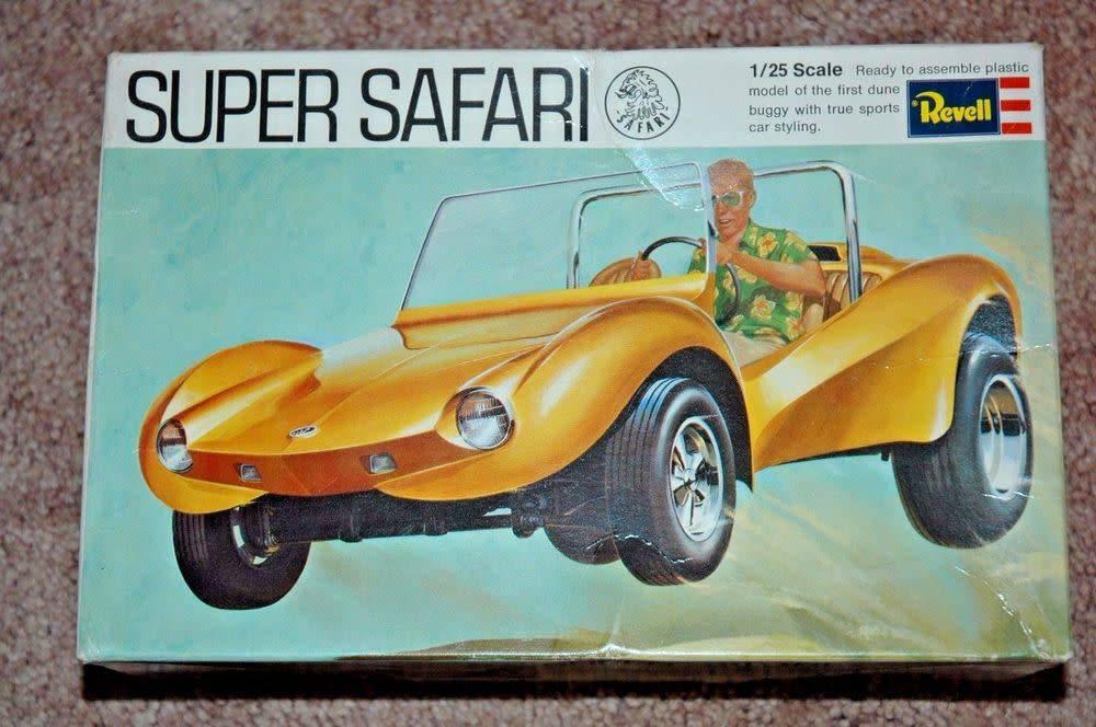 Revell 1969 SUPER SAFARI DUNE BUGGY Revell # H1278:200