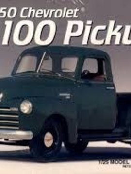 AMT Amt #6437 1950 Chevrolet 3100 Pickup 1/25 scale model kit