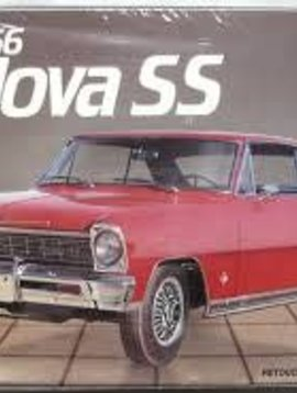 AMT AMT # 6749 1966 Nova SS Vintage Model Kit 1:25