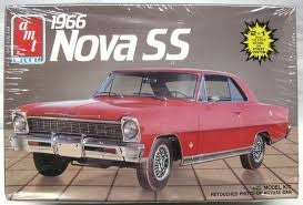 AMT AMT # 6749 1966 Nova SS Vintage Model Kit 1:25