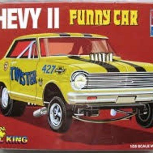 AMT Amt#21589P Super Boss Funny Car Model Kit 1/25