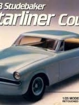 AMT Amt #6955 1953 Studebaker Starliner Coupe Custom Version