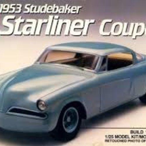 AMT Amt #6955 1953 Studebaker Starliner Coupe Custom Version