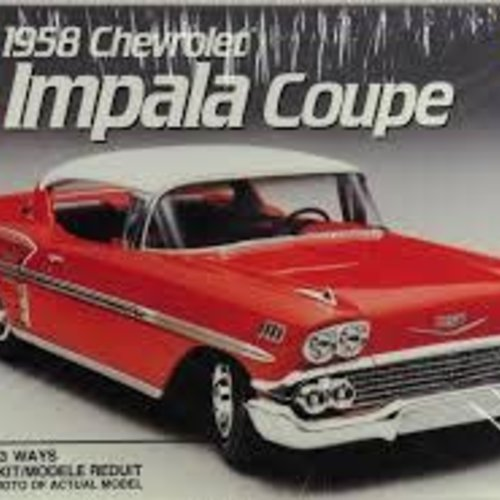 AMT amt #6548 1958 Chevrolet Impala Coupe 1:25 model Kit