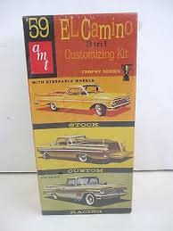 AMT Amt #8669 EL Camino 1:25 Model Scale Kit
