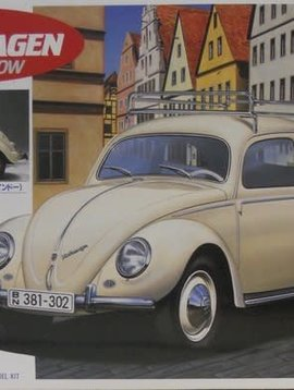 1956 Volkswagen Oval Window, Gunze Sangyo 1/24 RJM 1023
