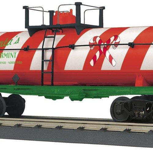 MTH O-27 Tank w/Smoke, Christmas
