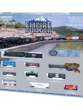 Bachman BAC24009 N Empire Builder Train Set, SF