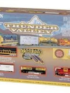 Bachman BAC24013 N Thunder Valley Train Set