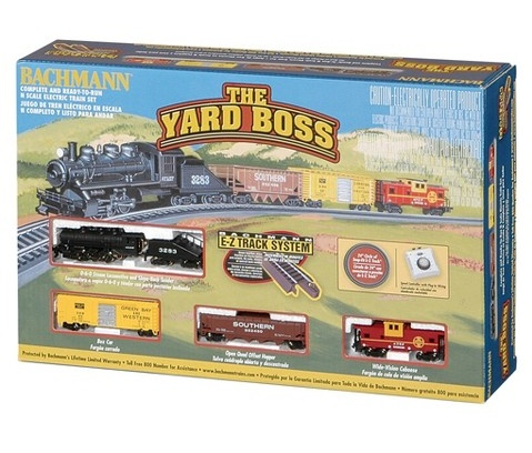 Bachman BAC24014 N Yard Boss Train Set