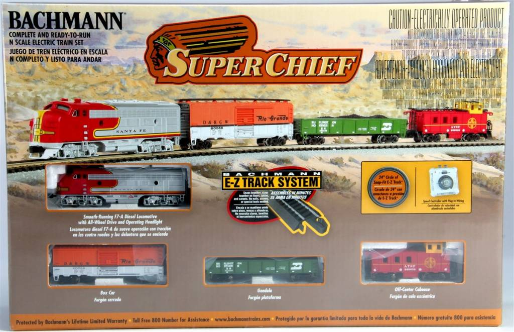 Bachman BAC24021 N Super Chief Set