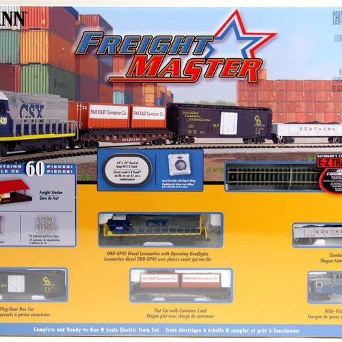 Bachman BAC24022 N Freightmaster Train Set