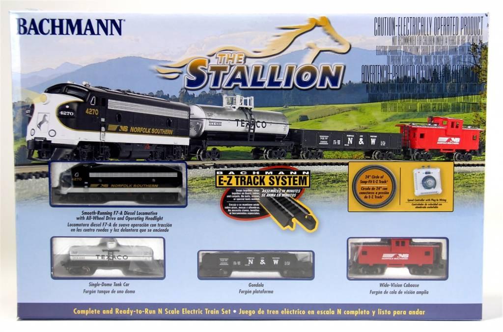 Bachman BAC24025 N The Stallion Train Set