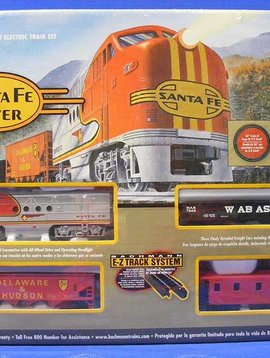 Bachman BAC00647 HO Santa Fe Flyer Train Set, SF