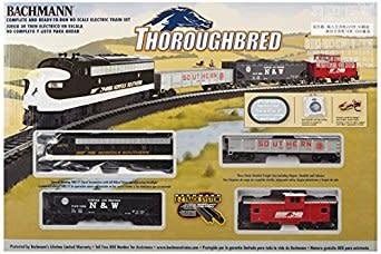 Bachman BAC00691 HO Thoroughbred Train Set