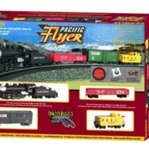 Bachman BAC00692 HO Pacific Flyer Train Set