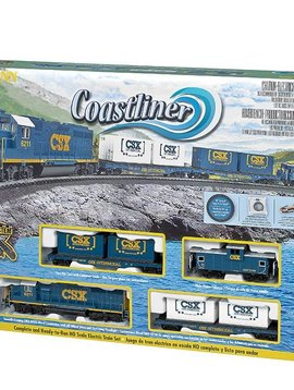 Bachman BAC00734 HO Coastliner Train Set
