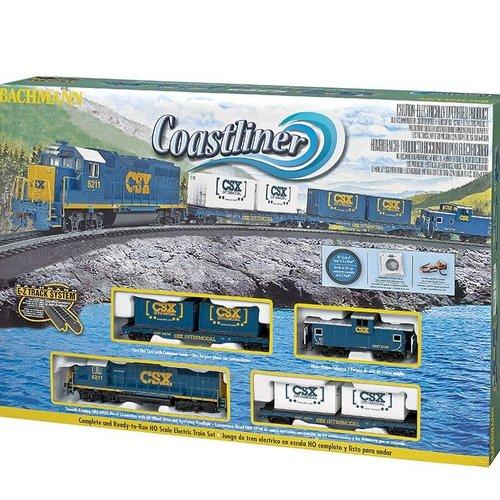 Bachman BAC00734 HO Coastliner Train Set