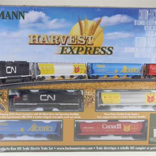 Bachman BAC00735 HO Harvest Express Train Set