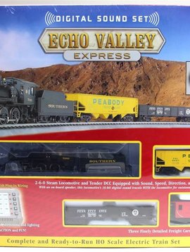 Bachman BAC00825 HO Echo Valley Express Set w/EZ Command Sound